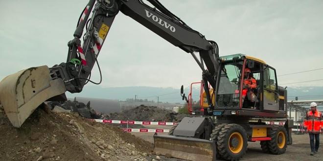 Volvo CE prueba conceptos de seguridad con Colas