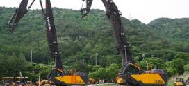 La excavadora de demolición más productiva de VOLVO, la EC750E HR