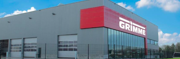 Grimme abre instalaciones de recambios en Bélgica