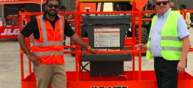 JLG entrega las primeras máquinas a Al Laith