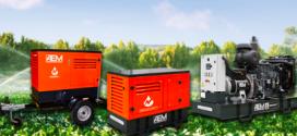 AEM  presenta generadores desarrollados para aplicaciones de riego