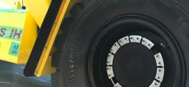 Neumáticos Continental montados en carretillas Hyster