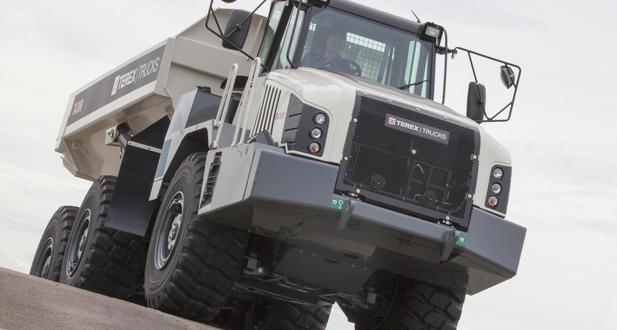 El dúmper articulado TA300 de Terex Trucks actualizado
