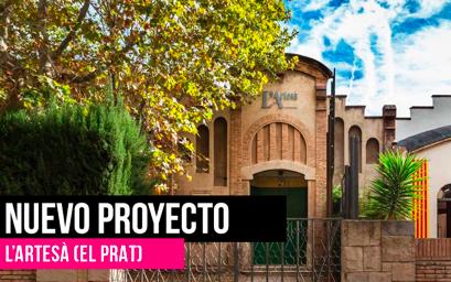 ALCO en la rehabilitación del icónico teatro l'Artesà en El Prat