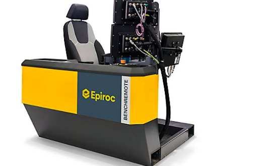 Epiroc lanza BenchREMOTE para varios equipos de perforación