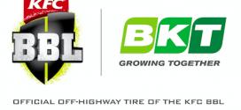 BKT, proveedor oficial de neumáticos de la liga australiana de críquet