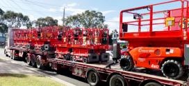 Haulotte completa la entrega de más de 400 máquinas a Coates Hire