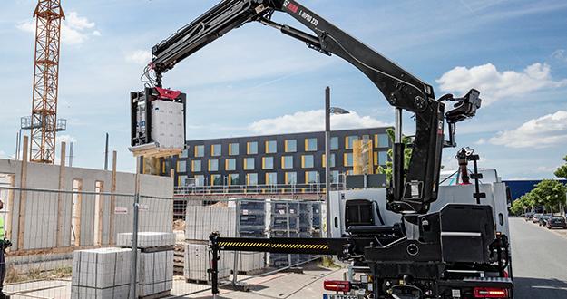 Hiab lanzará sus nuevos modelos de grúas de material de construcción en IAA