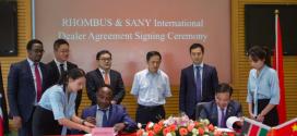 SANY ficha a su distribuidor en Kenia