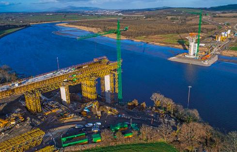 ULMA Construction interviene en la construcción del puente New Ross