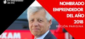 Gérard Déprez, presidente de Grupo LOXAM, premiado como emprendedor del año 2018