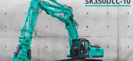 Kobelco lanza su máquina de demolición más pequeña en Europa