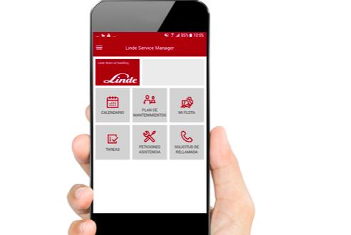 Linde Material Handling ha presentado su App Linde Service Manager