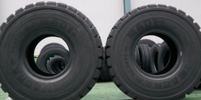 Producción de neumáticos Magna OTR en Tailandia para el mercado estadounidense