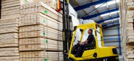 Hyster® presenta sus soluciones para la industria de la madera en Prowood