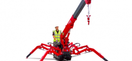 Mini grúas UNIC de Spain Crane, la única solución de elevación en accesos restringidos