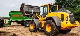 Una cargadora Volvo L70H a medida para un negocio agrícola