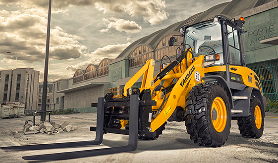 Yanmar Construction Equipment Europe lanza la v65, su nueva cargadora de ruedas compacta