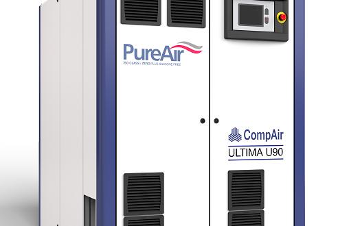 El compresor Ultima de CompAir continúa a la vanguardia en tecnologías exentas de aceite