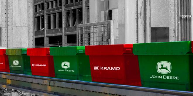 Deere anuncia la expansión en Europa de su acuerdo con Kramp