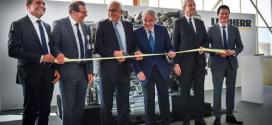 Liebherr inaugura una nueva línea de montaje de motores diesel en Colmar, Francia