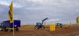 DEMO de tractores y aperos New Holland por tierras de Villalar de los Comuneros (Valladolid)