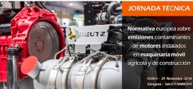 """ANMOPYC y ANSEMAT organizan la jornada """"Normativa europea sobre emisiones contaminantes de motores"""""""