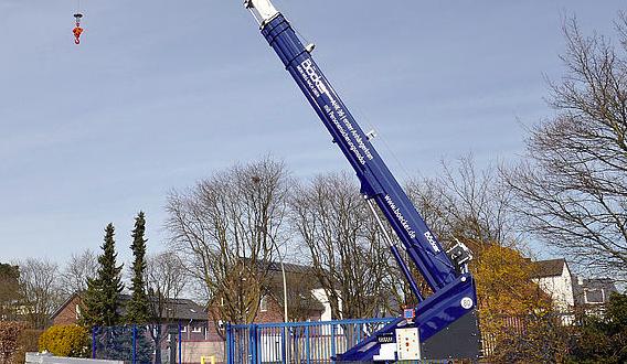 Spain Crane nos presenta la AHK 36, la grúa de remolque más potente de su clase
