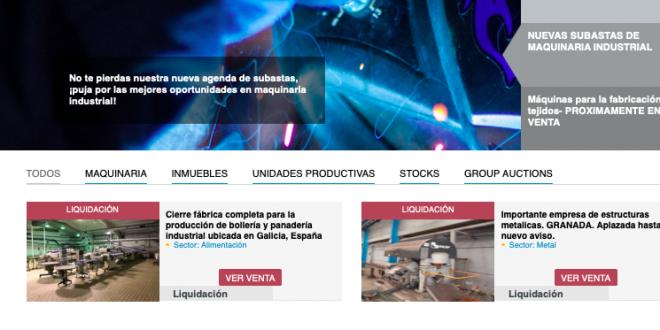IAG Auction abrirá una nueva venta de activos procedente de áridos Catisa