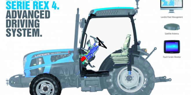 El Advanced Driving System de Landini REX 4 Premio Novedad técnica 2018 en EIMA