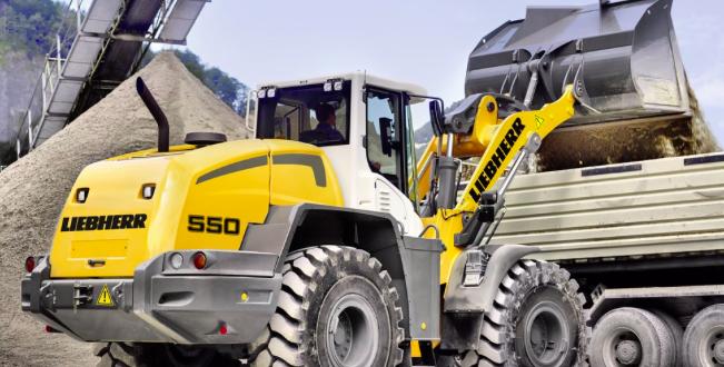 En Bauma China 2018, Liebherr expondrá la cargadora de ruedas L 550