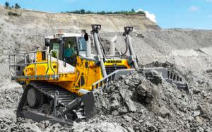 La excavadora de orugas más grande de Liebherr, por primera vez en China