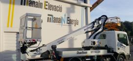 OilSteel Ibérica entrega una Scorpion 1812 a Manain Elevación