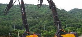 La efectividad de la excavadora de demolición VOLVO EC750E HR