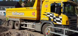 Camiones equipados con cajas de cambios Allison de Hansa Entreprenad AB