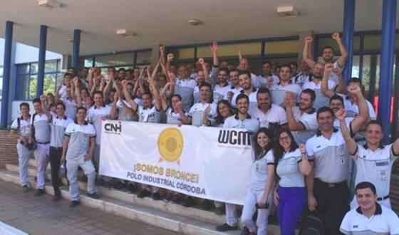 CNH  Córdoba en Argentina, logra la designación Nivel Bronce en fabricación mundial
