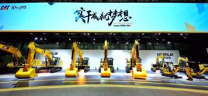 Más de 30 máquinas Caterpillar en Bauma China