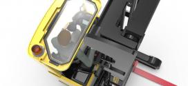 Mejora de la vista en una carretilla retráctil Hyster con techo de vidrio