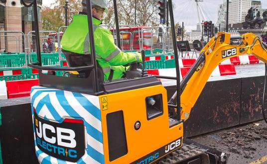 JCB preparado para un comienzo eléctrico en 2019
