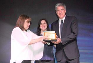 Metso premiado por sus 20 años de trayectoria en Argentina
