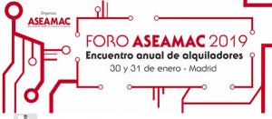 El Foro ASEAMAC 2019 completa su espacio expositivo de patrocinadores