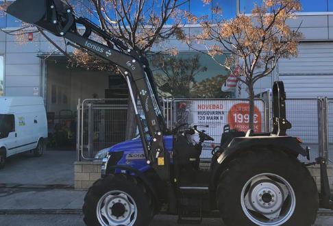 Los tractores Solís entre los más vendidos en Alicante por Agrícola Levante