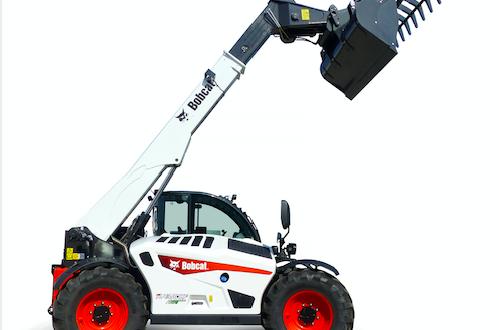 Bobcat muestra por primera vez en España la cargadora telescópica 43.80HF Agri