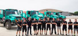 Fassi patrocina camiones IVECO en el Dakar 2019
