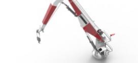 Liebherr lanza el tercer modelo de la serie de grúas de pluma abatible