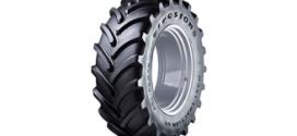 Firestone Maxi Traction 65, un neumático para tractor con un 11% más de huella