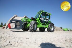 Merlo S.p.A presenta su manipulador Turbofarmer 40.7 Hybrid
