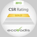 TMHE gana el Oro en los Premios EcoVadis