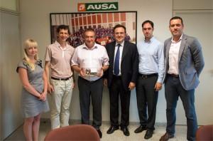 Nombramiento de nuevo distribuidor de AUSA en UCRANIA