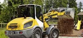 Máquinas compactas Liebherr para el movimiento de tierras en GaLaBau 2014